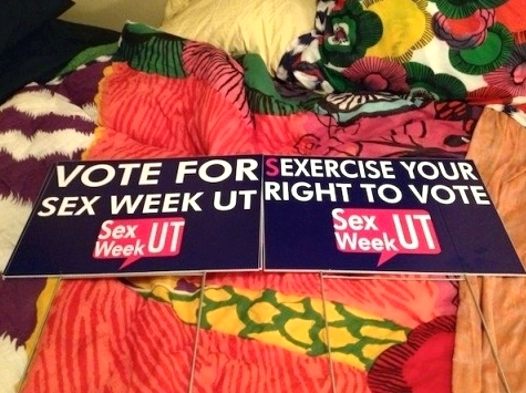 Sex Week at the University of Tennessee' /